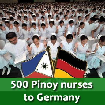 Requirements for 500 Filipino nurse jobs in Germany
