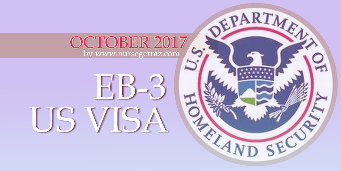 October 2017 EB-3 US Visa for Nurses in the Philippines