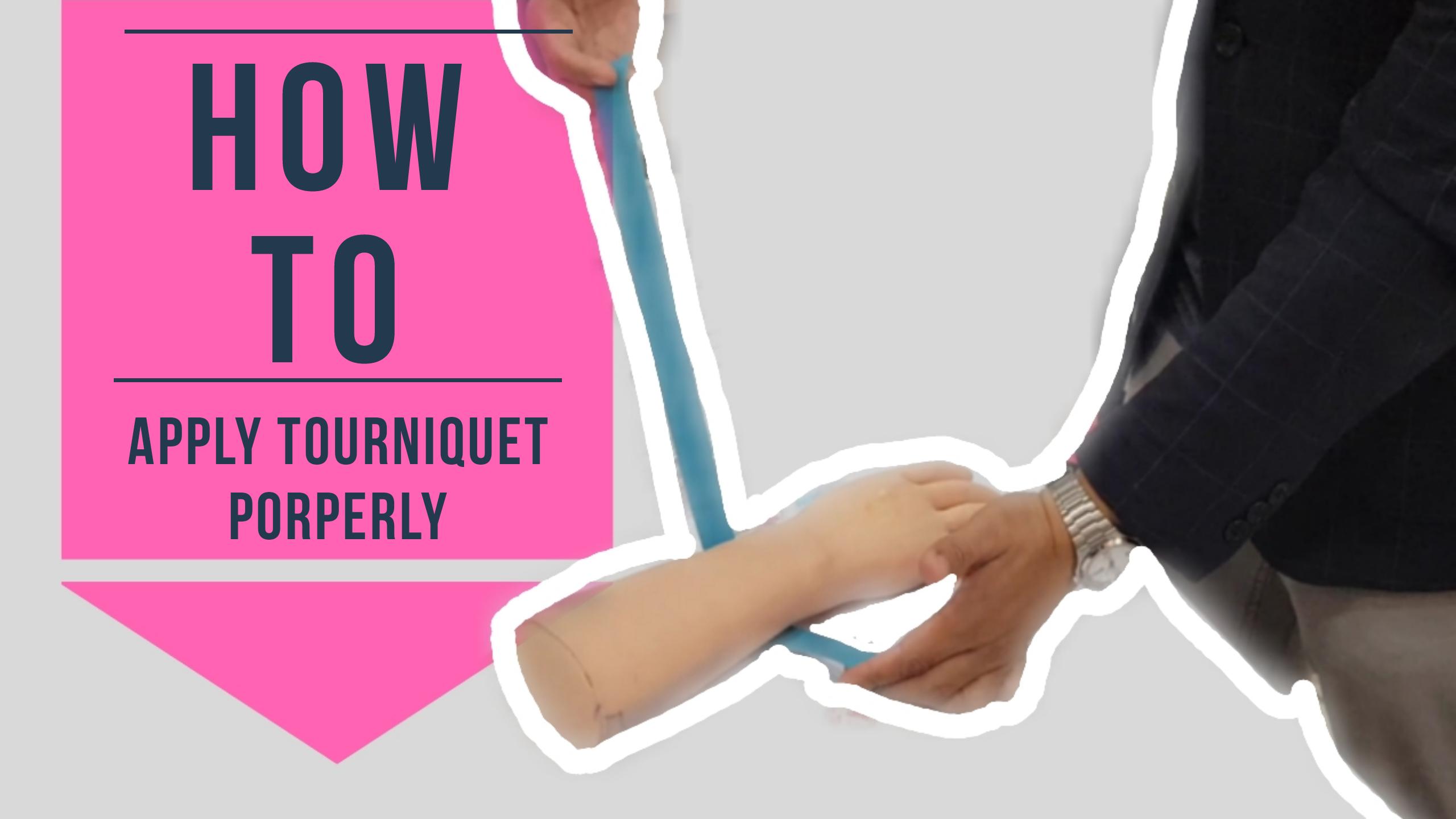 How To Apply Tourniquet Properly For Nurses